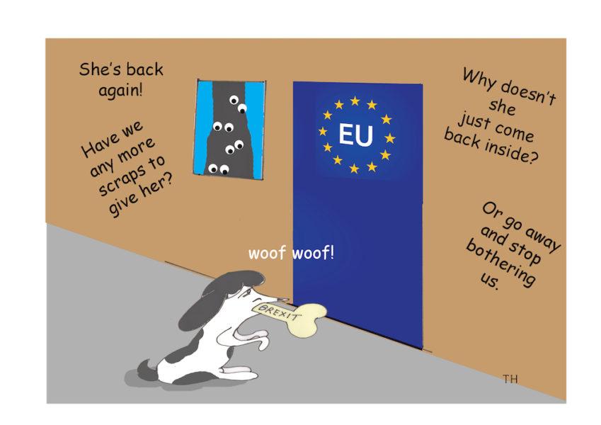 Woof Brexit Cartoon