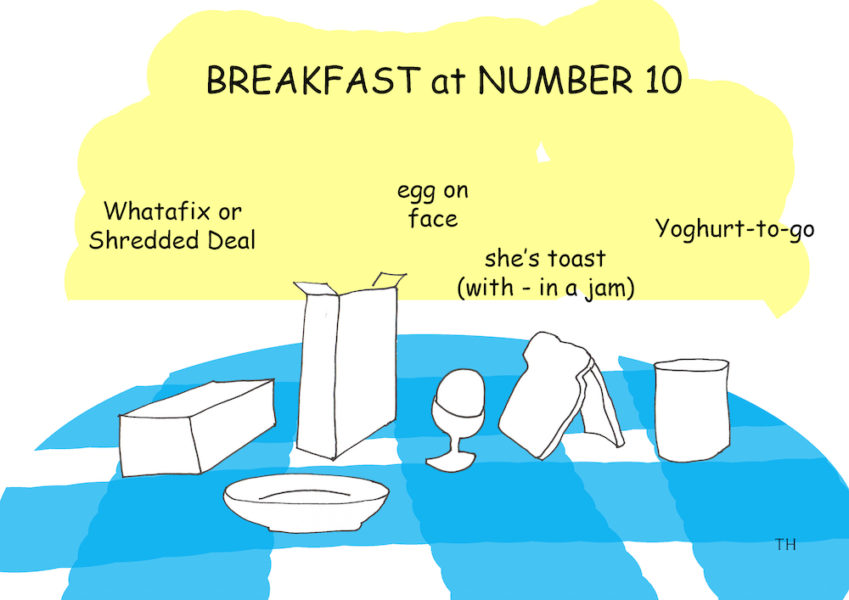 Breakfast Brexit cartoon