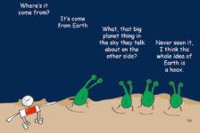 moon hoax Cartoon