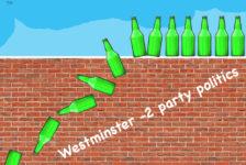 green bottles cartoon