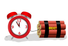 Time bomb Brexit cartoon