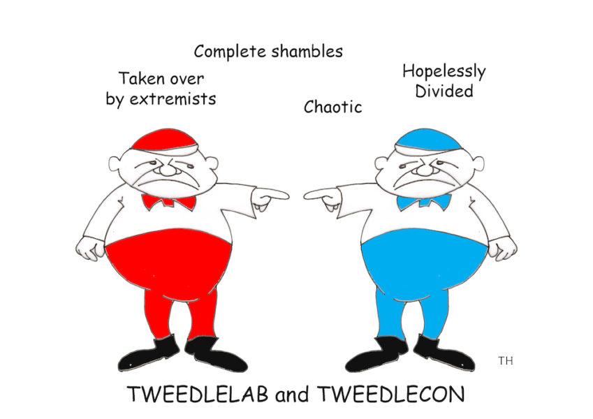 tweedle cartoon