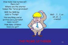 Boris Johnson ditherer cartoon