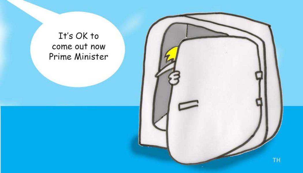 UK general election result cartoon