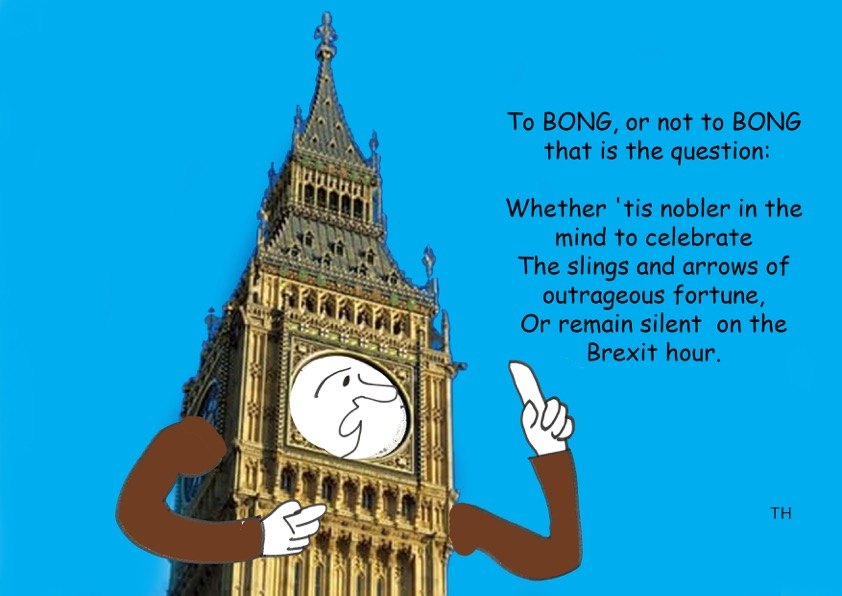 Ted Harrison on a Big Ben Brexit bong