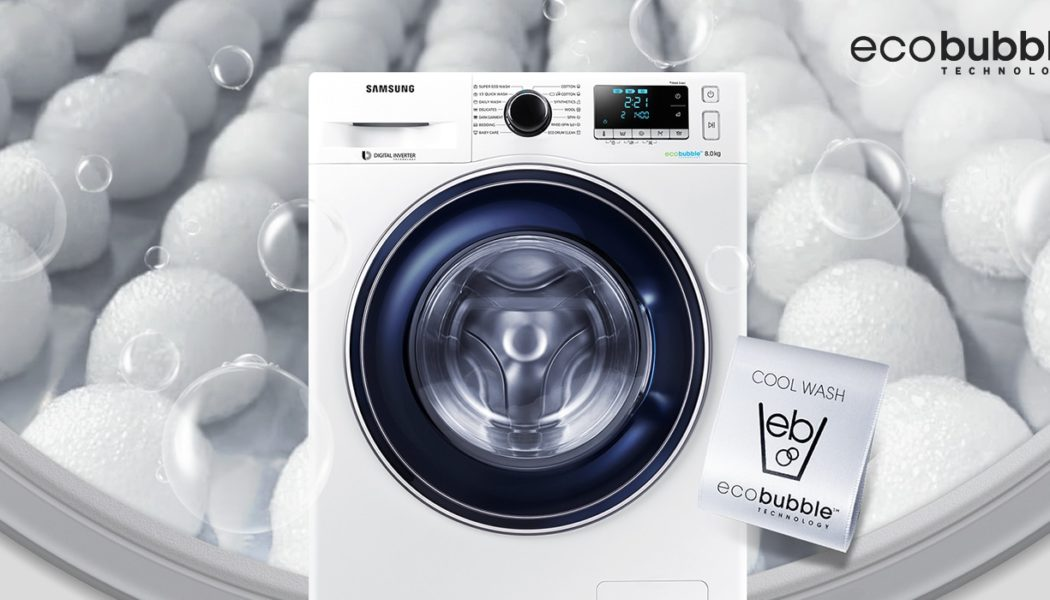 Samsung Ecobubble washing machine