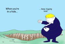 Ted Harrison HS2 cartoon