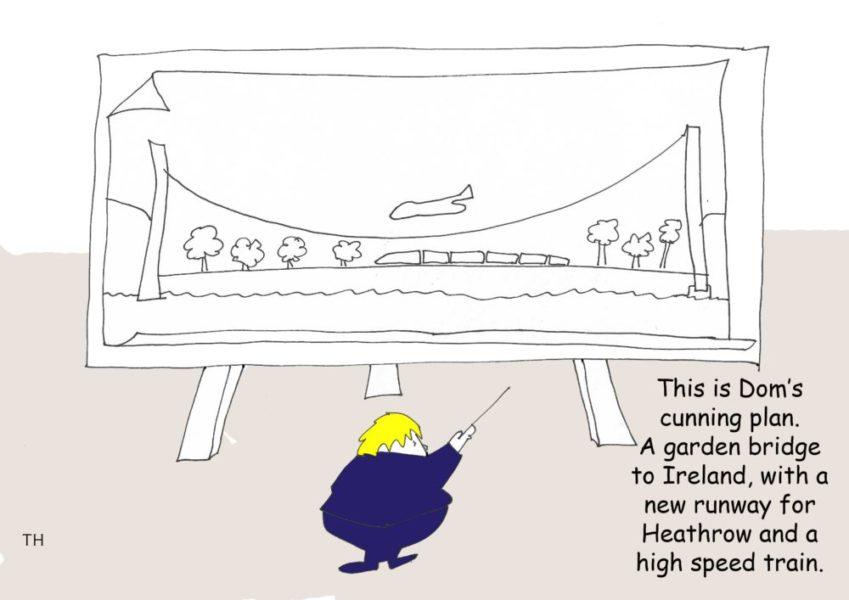 Boris bridge cartoon