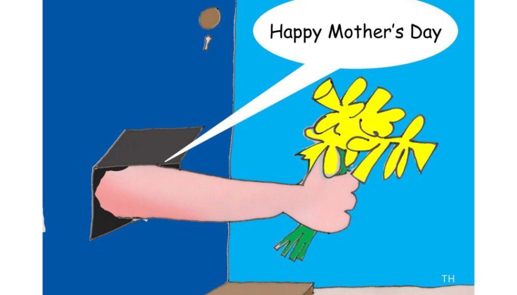 Mothers Day coronavirus cartoon
