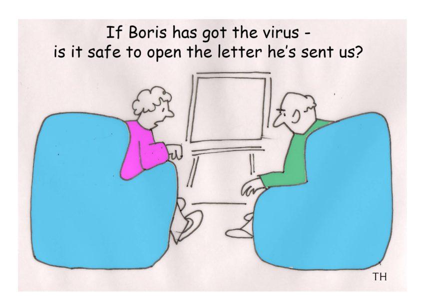 Ted Harrison on the Boris Johnson coronavirus letter