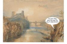 Turner painting of Barnard Castle Dominic Cummings