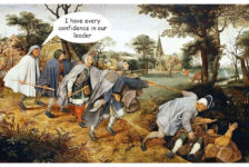 The parable of the blind by Pieter Brueghel the elder