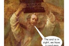 Rembrandt 'Moses and the ten commandments'