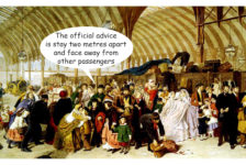 Public transport social distancing