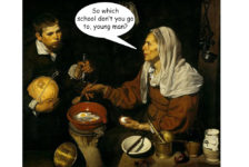 Old Woman Frying Eggs Velazquez