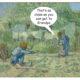 First Steps, after Millet - Vincent Van Gogh