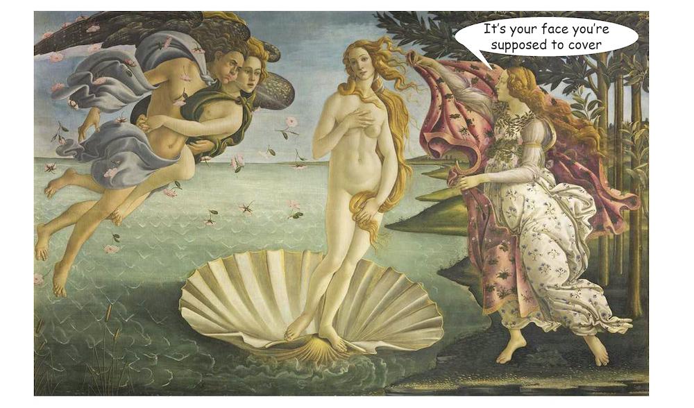 The Birth of Venus - Botticelli