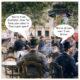 Louis Anet Sabatier, Cafe Scene in Paris