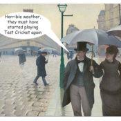 Paris Street; Rainy Day Gustave Caillebotte